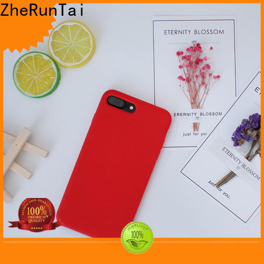 ZheRunTai price silicon mobile cover for sale