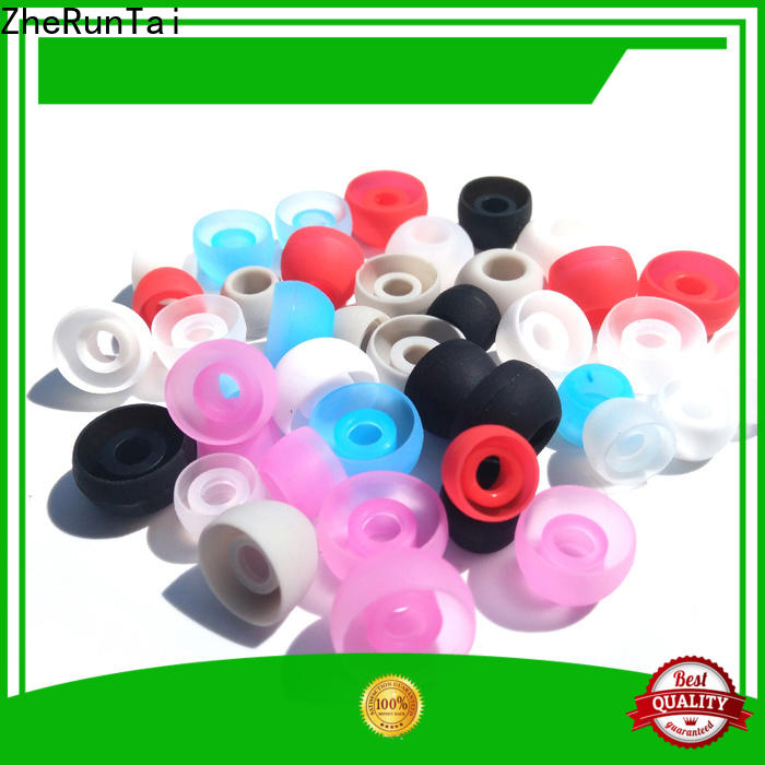 ZheRunTai Custom silicone earbud tips supply for going street