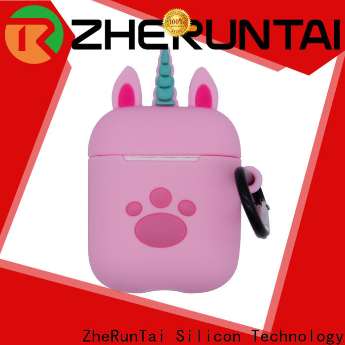 ZheRunTai Best airpods silicone cases factory suitable for phones