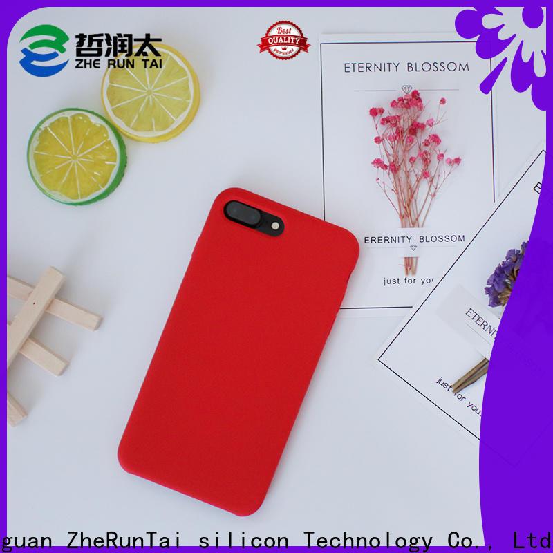 ZheRunTai price custom silicone phone case manufacturers for phone
