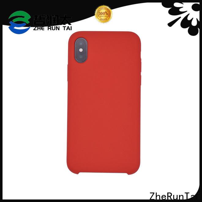 ZheRunTai silicone silicone phone covers suppliers for decorative