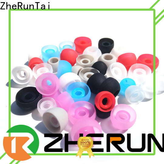 ZheRunTai earbud silicone earbud tips supply for listening music
