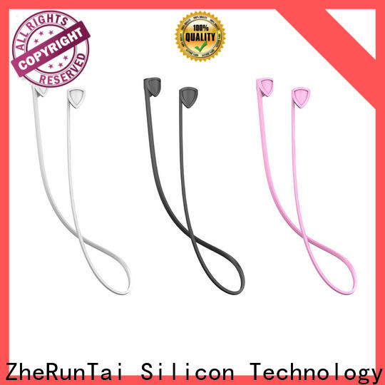 ZheRunTai silicone airpods safety strap supply for Air Pods