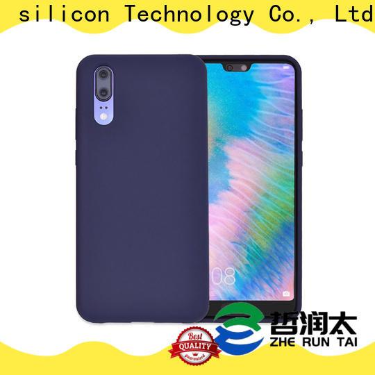 ZheRunTai Custom silicone phone case for business