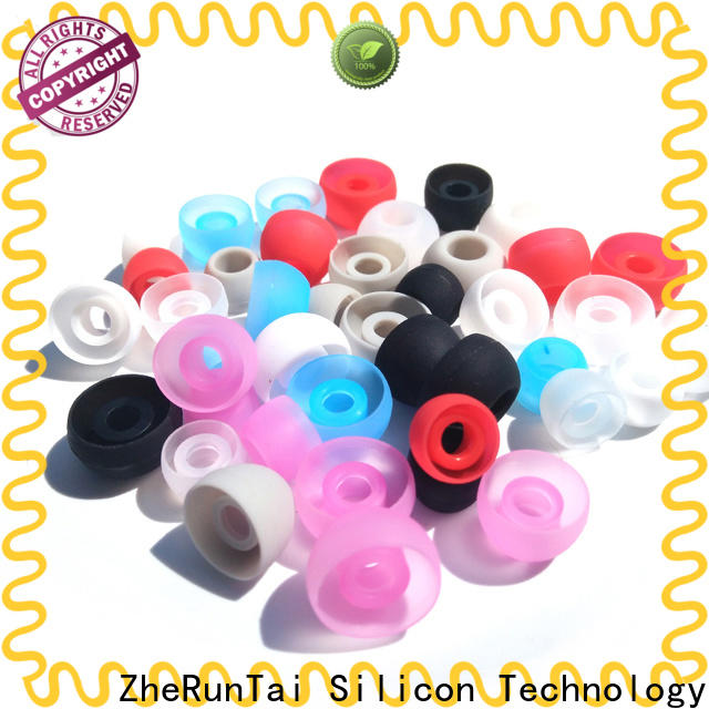 ZheRunTai covers silicone earbud tips suppliers for going street