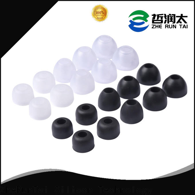 ZheRunTai wireless silicone earbud covers supply for phone