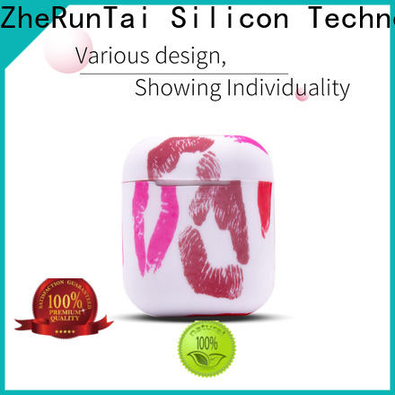 ZheRunTai High-quality airpods silicone cases manufacturers suitable for phones