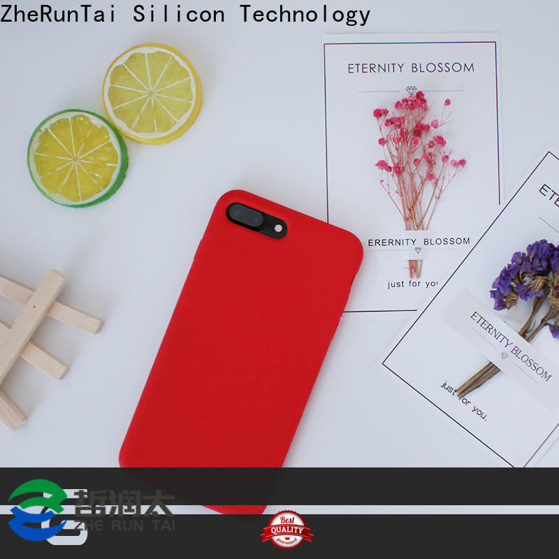 ZheRunTai iphone silicon mobile case for sale for mobile phone