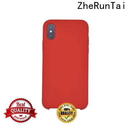 ZheRunTai Custom silicone phone case factory for mobile phone