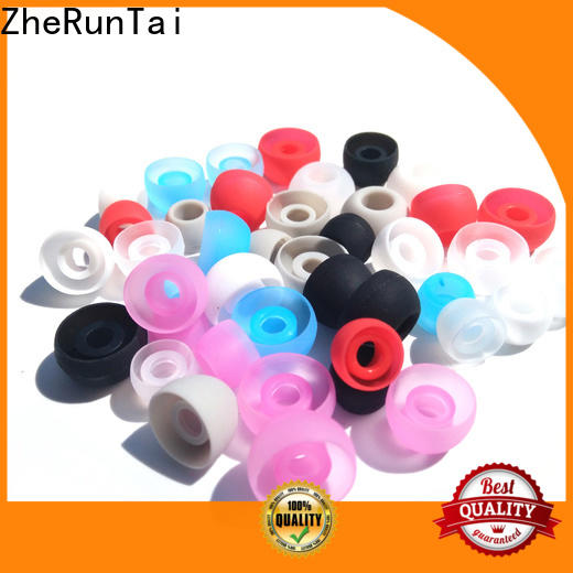 ZheRunTai Latest silicone earbud covers for sale for listening music