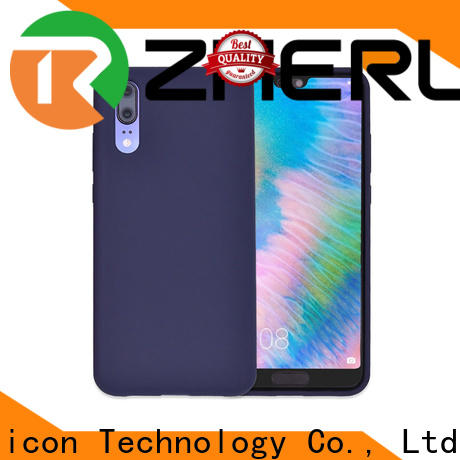 ZheRunTai iphone silicon phone cover company for dirt-resistant