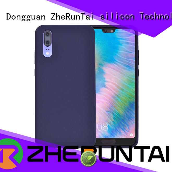ZheRunTai p20 silicone mobile cover with good appearance for protective