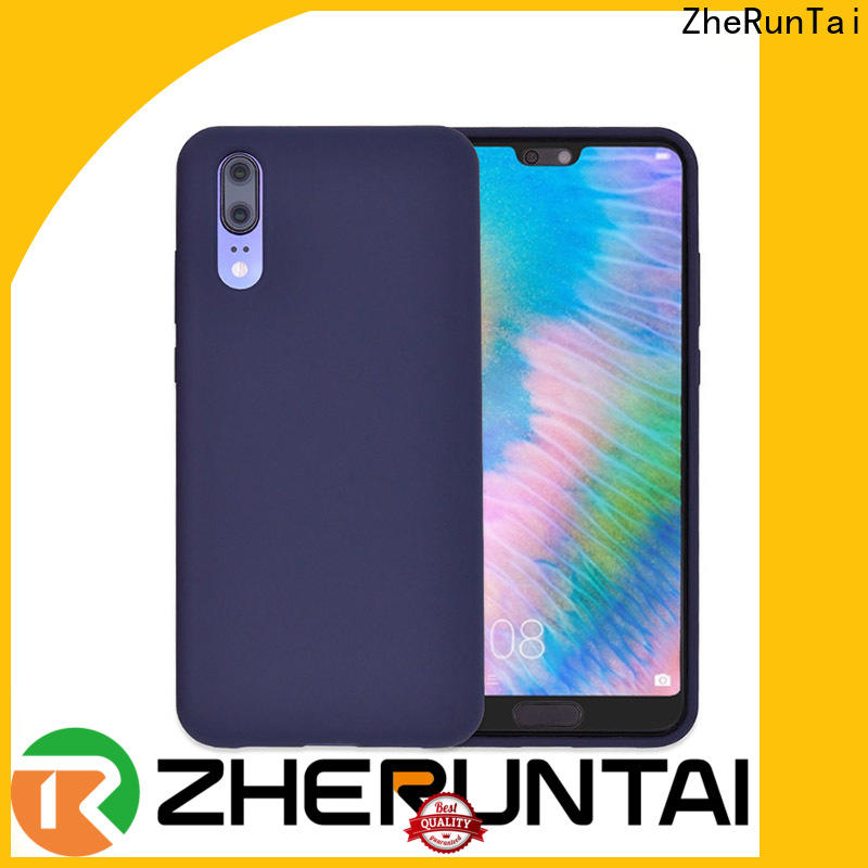ZheRunTai Wholesale custom silicone phone case company
