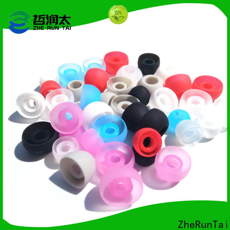 ZheRunTai High-quality silicone earbud for business for going street