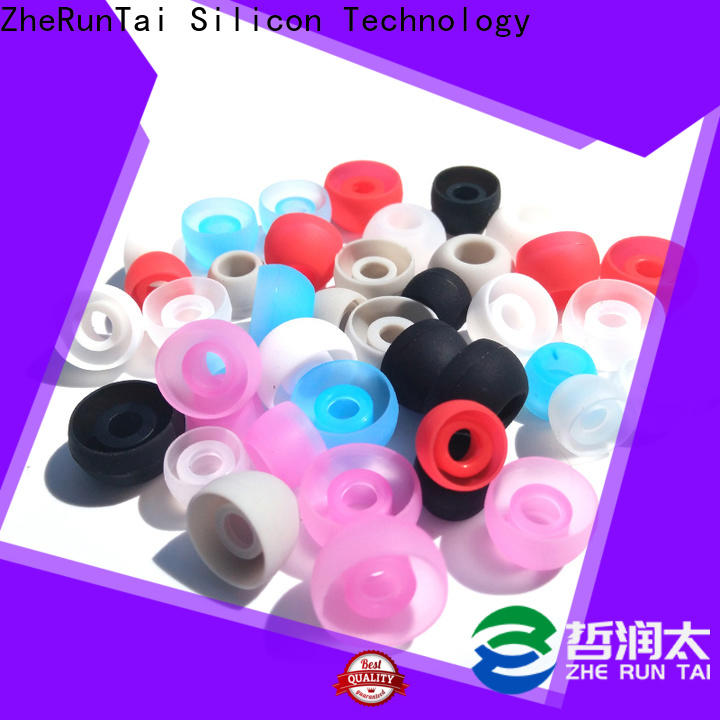 ZheRunTai Top silicone earbud tips factory for going street