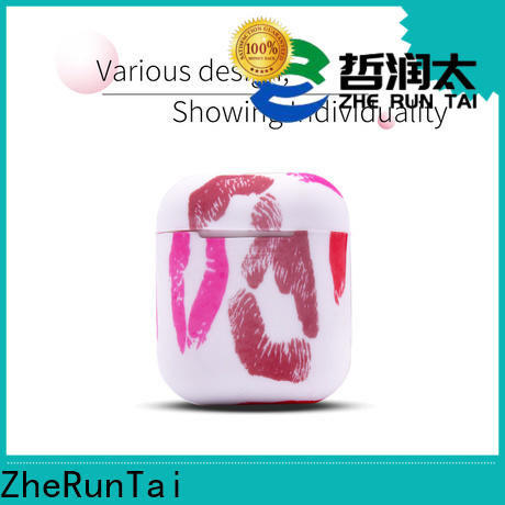 ZheRunTai shock airpods silicone cover suppliers for different phones