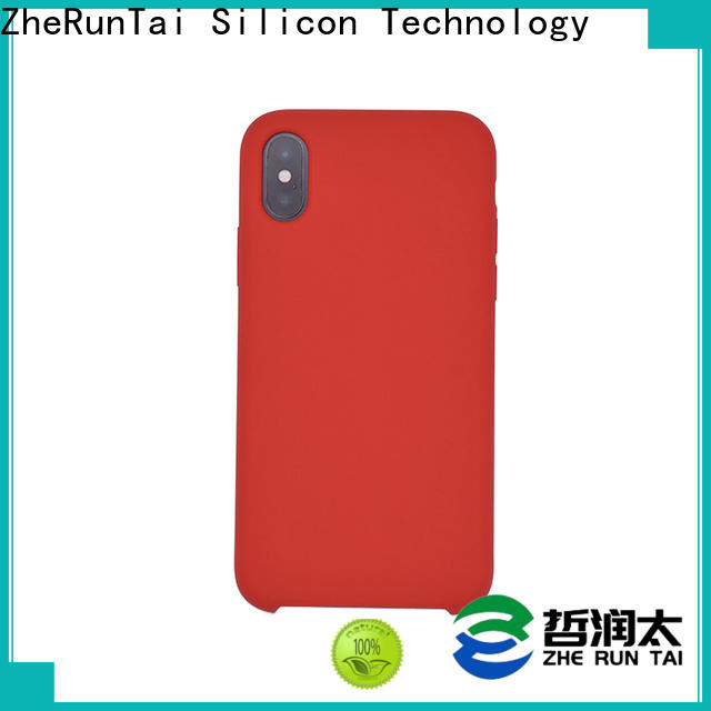 ZheRunTai iphone silicone mobile cover manufacturers for dirt-resistant