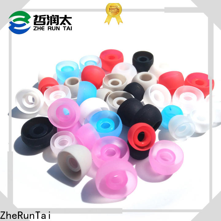 ZheRunTai replacement silicone earbud tips suppliers for study