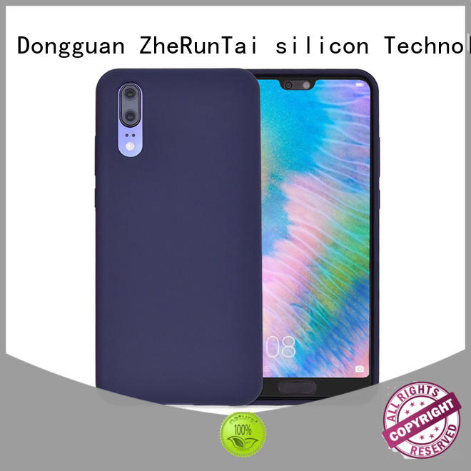 ZheRunTai case silicon mobile cover factory for mobile phone
