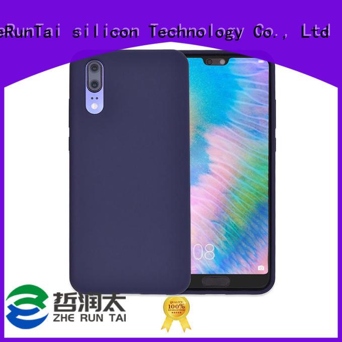 ZheRunTai p20 silicone phone case factory