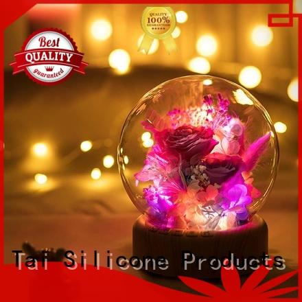 noise activated night light scarecrow soft light silicone light manufacture