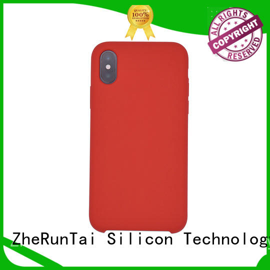 ZheRunTai stable silicon phone cover in-green for protective