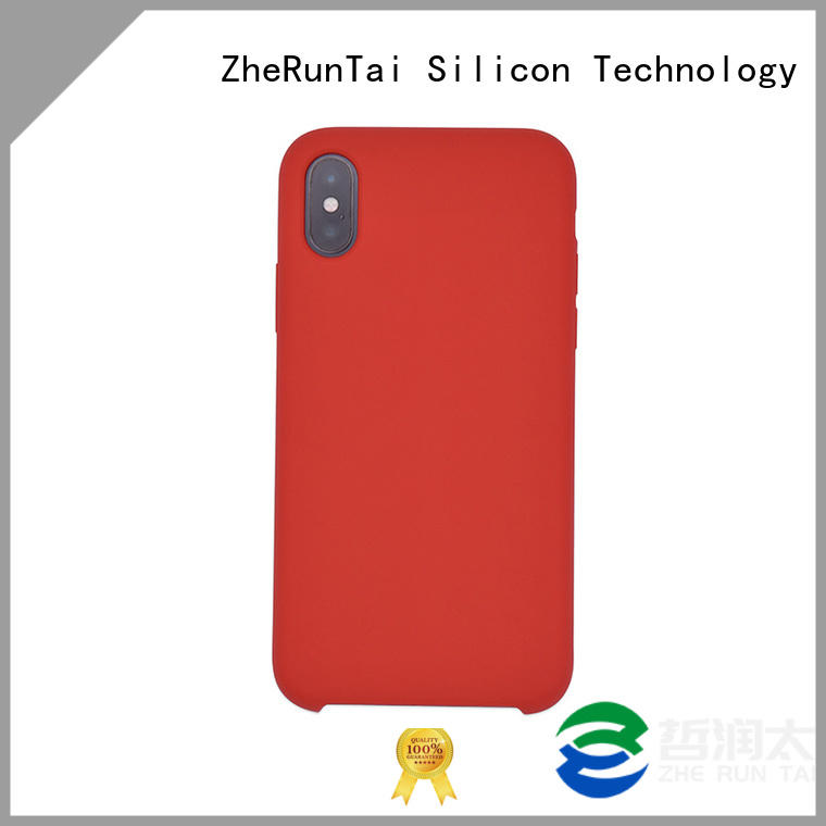ZheRunTai silicone protective phone cases factory for mobile phone