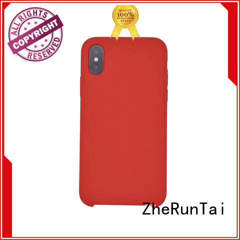 price silicone phone case maker in different colors for phone ZheRunTai