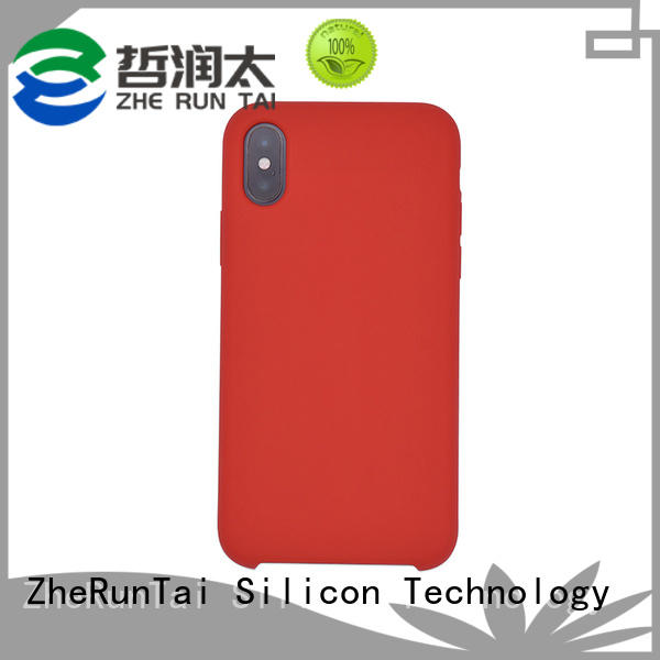 ZheRunTai silicone silicone mobile phone case suppliers for mobile phone