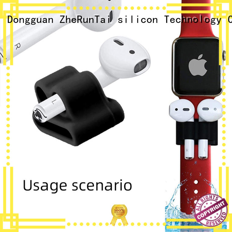 ZheRunTai earphone silicone airpods holder check now for street