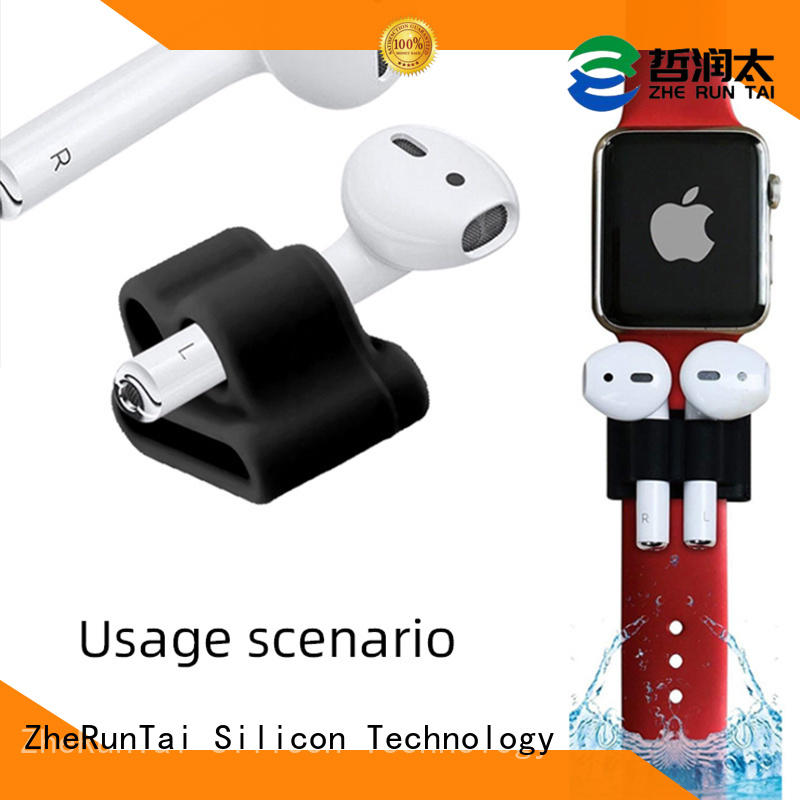 ZheRunTai best airpod holders in different colors for outdoor activity