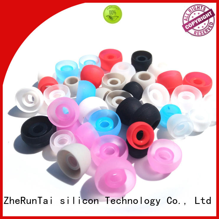 ZheRunTai wireless silicone earbud covers long-term-use for phone