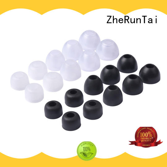 ZheRunTai headphone silicone earbud tips manufacturers for going street