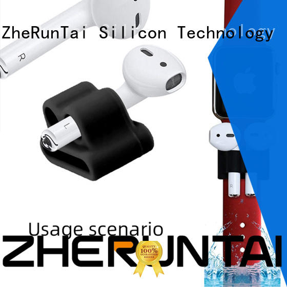 ZheRunTai silicone airpod holder for wholesale for sporting