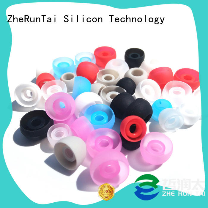 ZheRunTai Wholesale silicone earbud covers for sale for going street