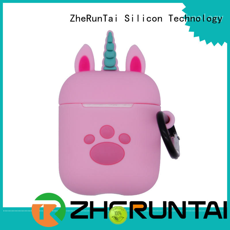 ZheRunTai lost airpods silicone cases manufacturers for mobile phone