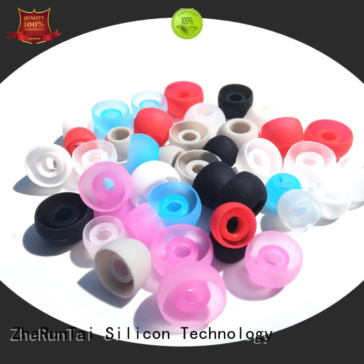 ZheRunTai price earphone caps factory price for listening music