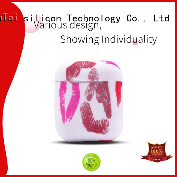 ZheRunTai silicone apple airpods cover free design suitable for phones