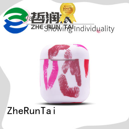 ZheRunTai Custom airpods silicone cases manufacturers for mobile phone