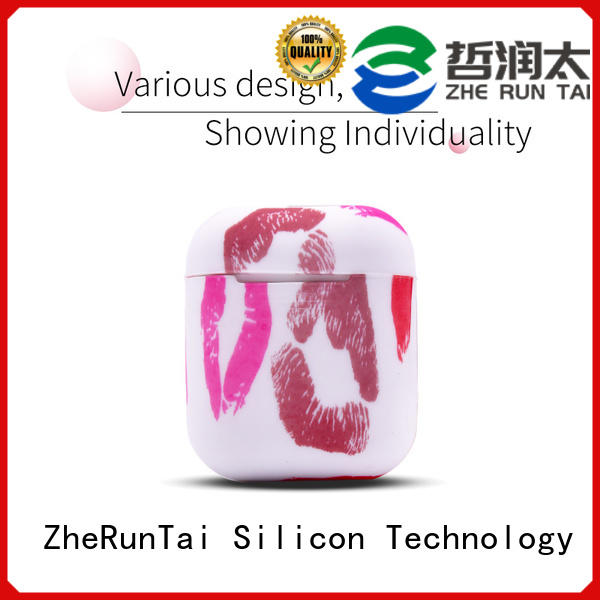 ZheRunTai cover airpods silicone cases factory price suitable for phones