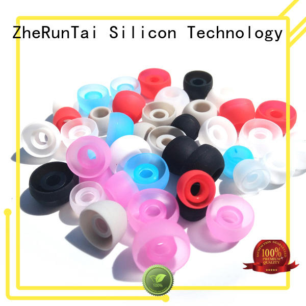 ZheRunTai reliable silicone earbud covers bulk production for listening music