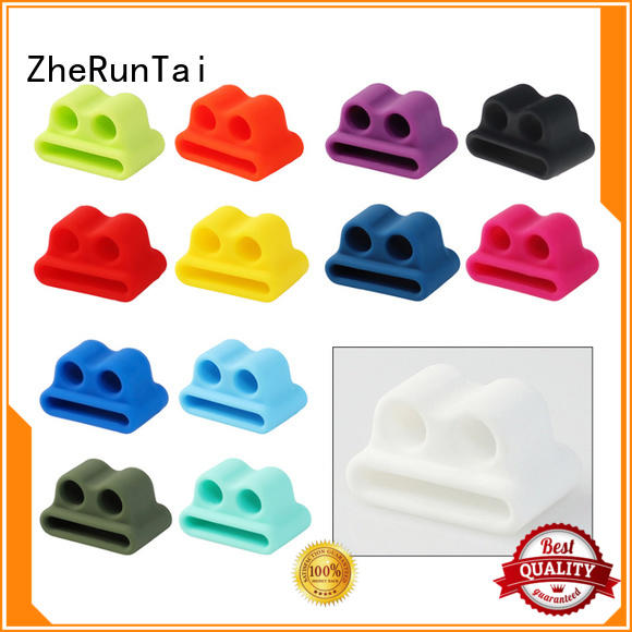 ZheRunTai hot-sale silicone anti lost holder for apple apple for street