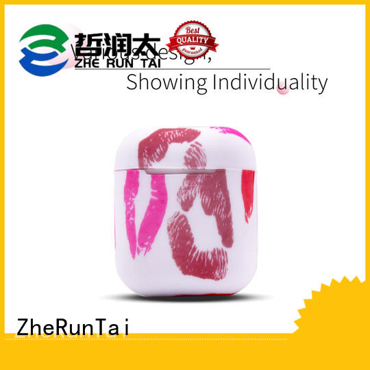 ZheRunTai silicone apple airpods case for sale suitable for phones