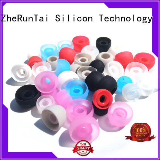 ZheRunTai cute silicone earbud free design for study