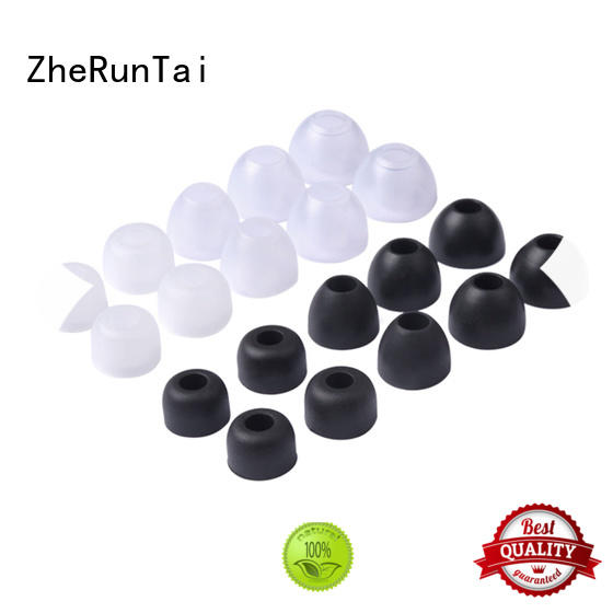 ZheRunTai Top silicone earbud covers for sale for going street