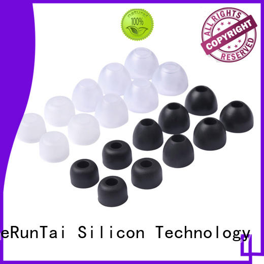 ZheRunTai replacement silicone earbud suppliers for going street