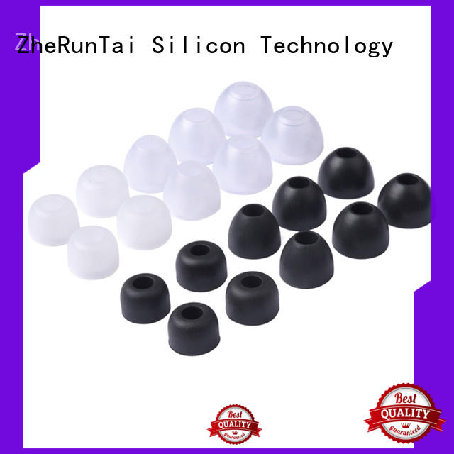 ZheRunTai silicone silicone earbud tips factory price for shopping