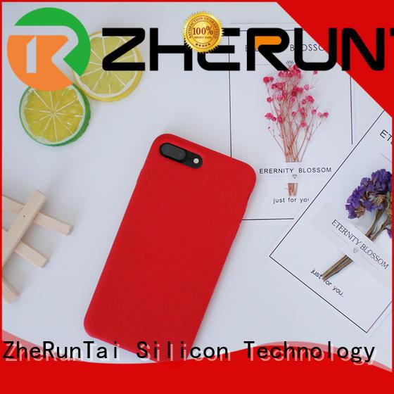 ZheRunTai iphone silicone phone case manufacturers for decorative