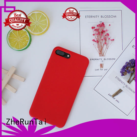 High-quality custom silicone phone case iphone factory for dirt-resistant
