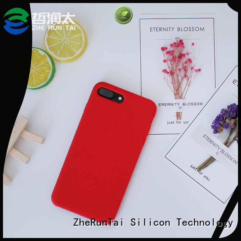 ZheRunTai stable silicone mobile phone cases widely-use for protective